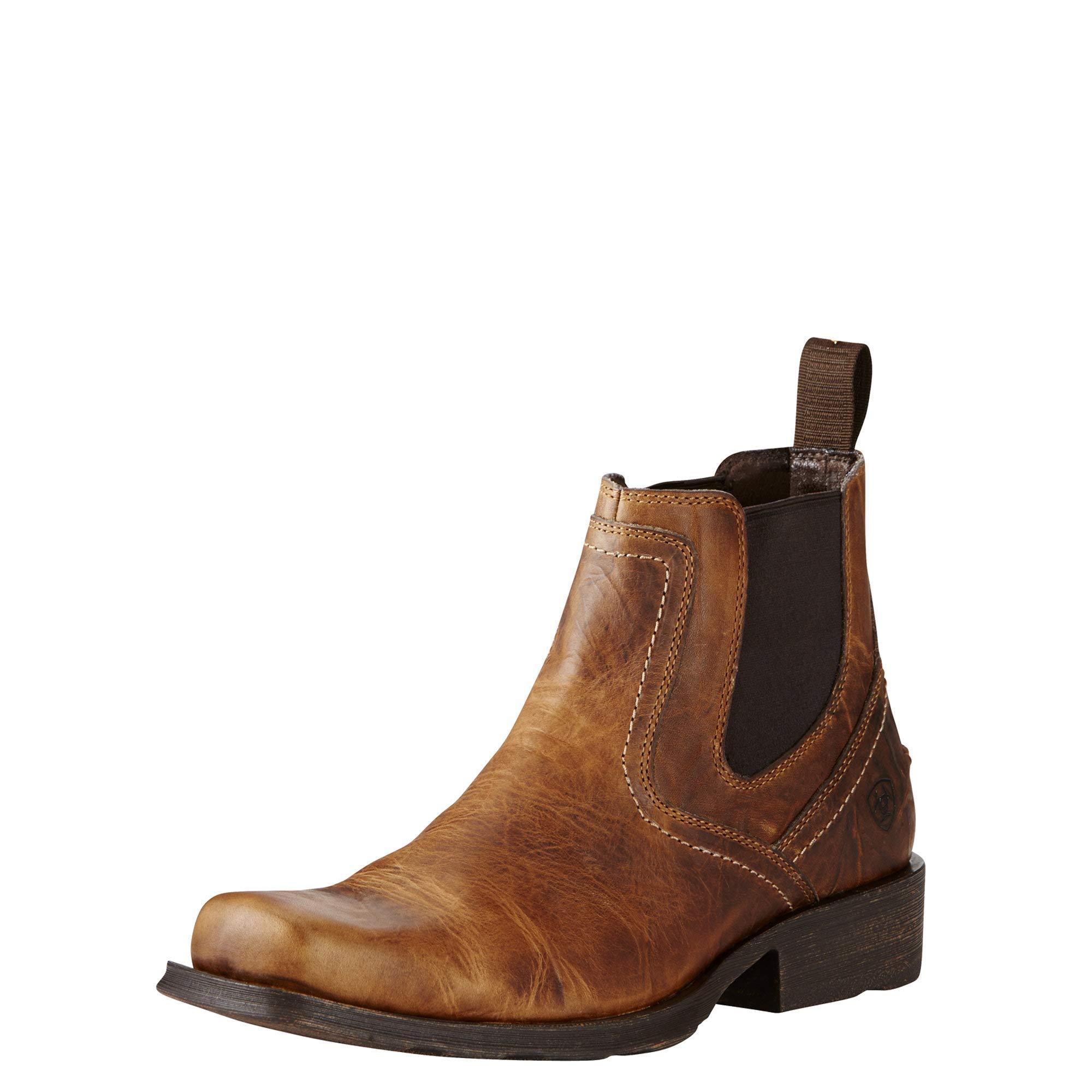 Ariat Men's Midtown Rambler Casual Boot, Barn Brown, 9.5 D US by ARIAT