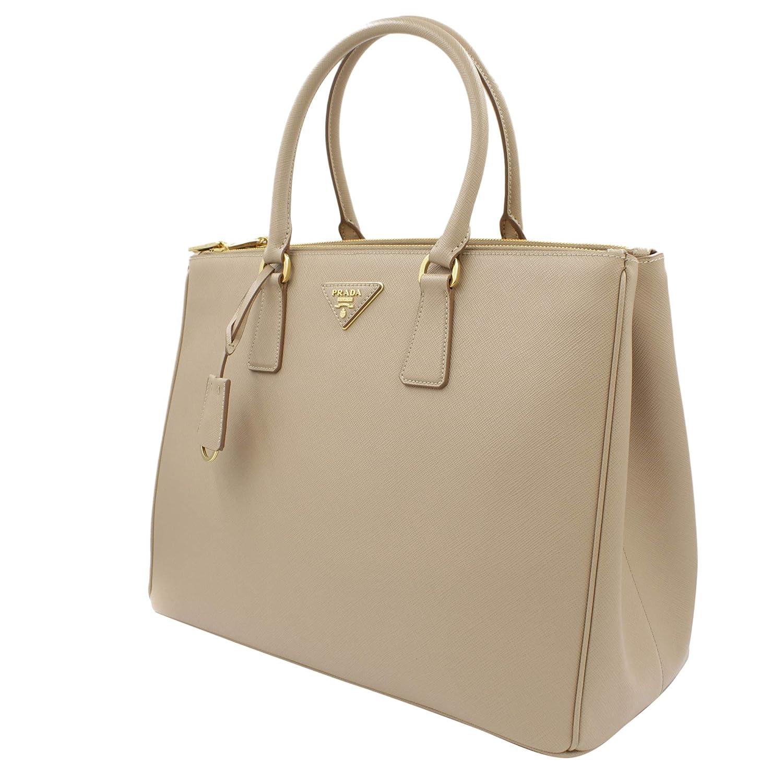 Amazon.com  Prada Women s Tote Bag Saffiano Leather in Cammeo Style 2274   Clothing e5750e975838d
