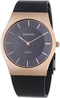BERING Time 11935-262 Unisex Classic Collection Watch with Stainless-Steel Strap and Scratch