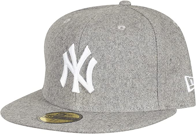 New Era Mujeres Gorras / Gorra plana Melton NY Yankees: Amazon ...
