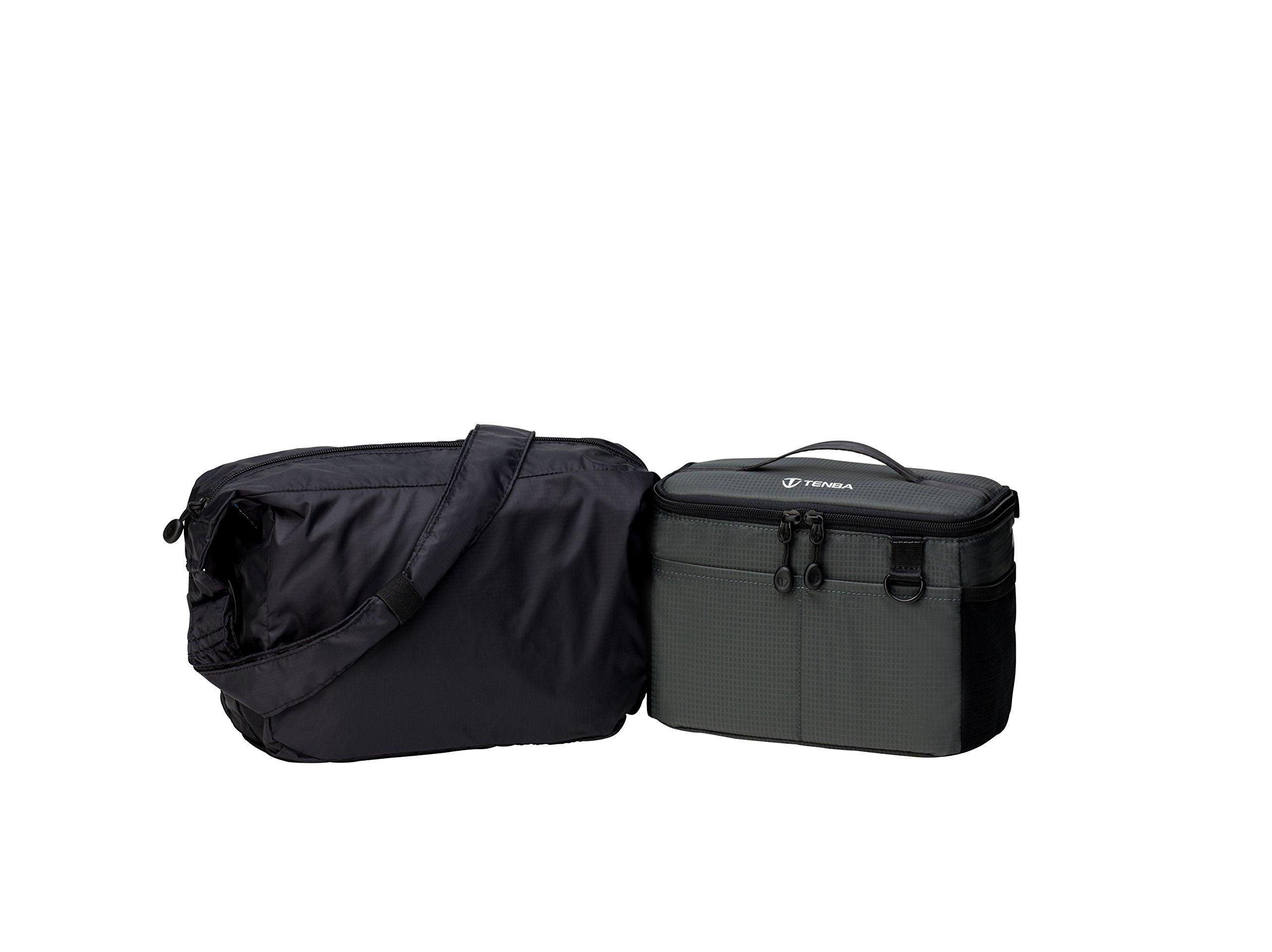 Tenba BYOB/Packlite 9 Flatpack Bundle with Insert and Packlite Bag (636-282) by Tenba