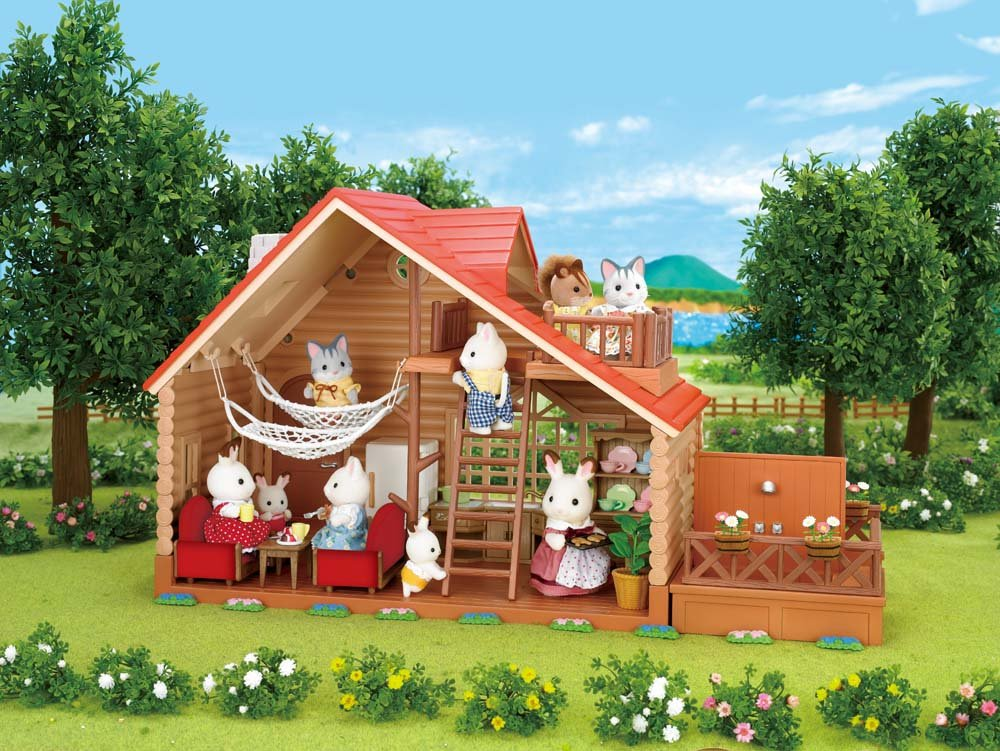 Amazon.com: Calico Critters Lakeside Lodge: Toys & Games on lake house community, lake house girls, lake house house, lake house numbers,