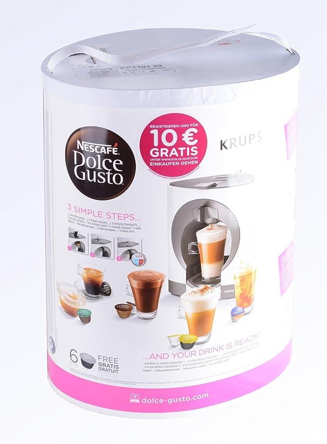 Krups Dolce Gusto Oblo - Cafetera de cápsulas: Amazon.es: Hogar