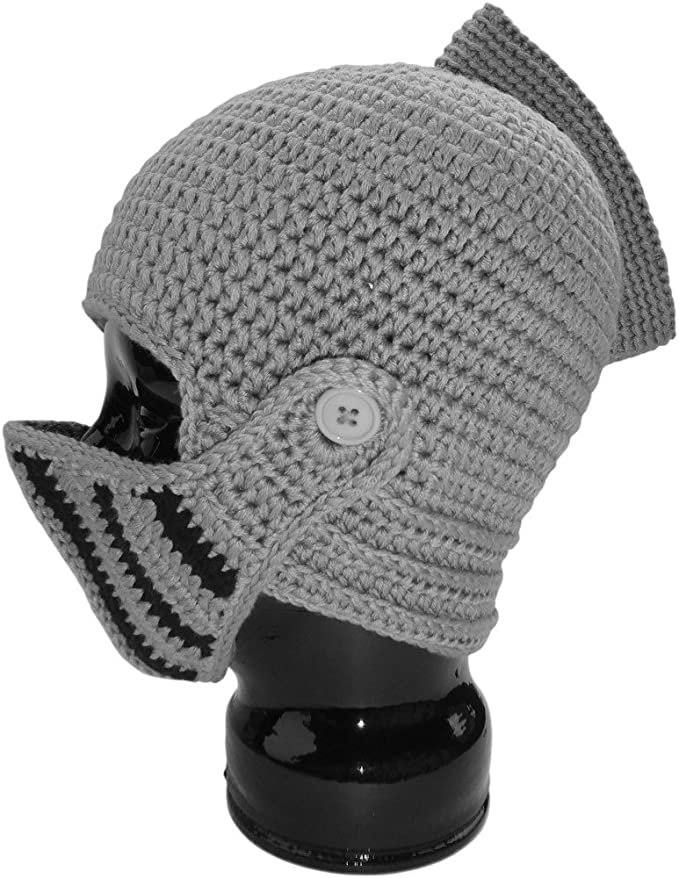 Amazon.com : The Original Knight Helmet Hat By Authentic Soul ...
