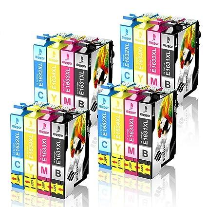 Bigger - Cartuchos de Tinta de Repuesto para Epson 16XL para ...