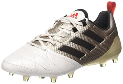 adidas Ace 17.1 FG Womens Leather Soccer Boots Cleats-Silver-5 f4819a622