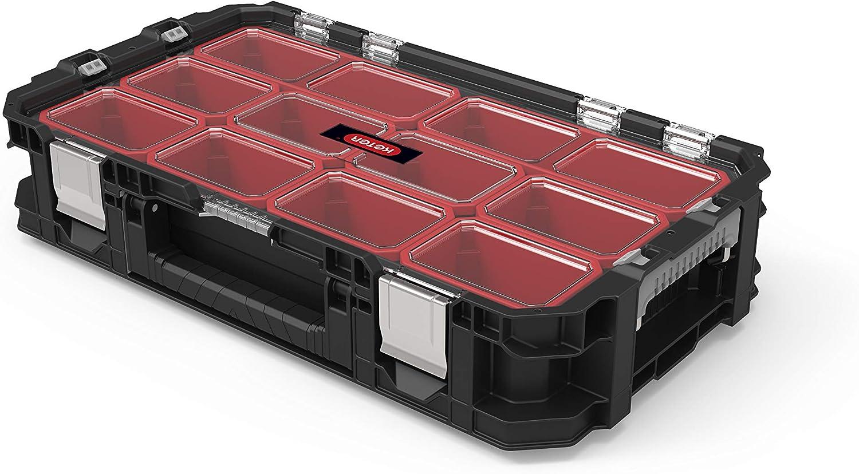 Keter Connect Organizer - Caja de herramientas, color negro y rojo: Amazon.es: Bricolaje y herramientas