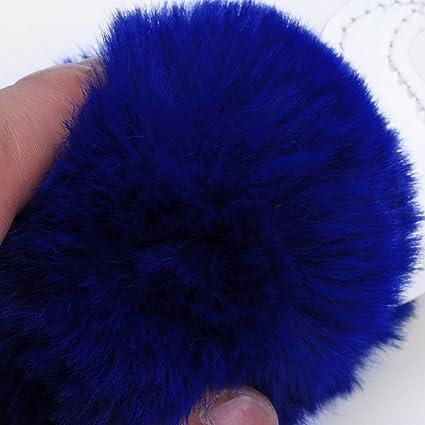 Amazon.com: piel sintética suave unicornio pompones de ...