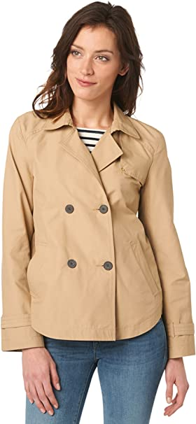 Tom Tailor A-Shape Short Trench Chaqueta para Mujer
