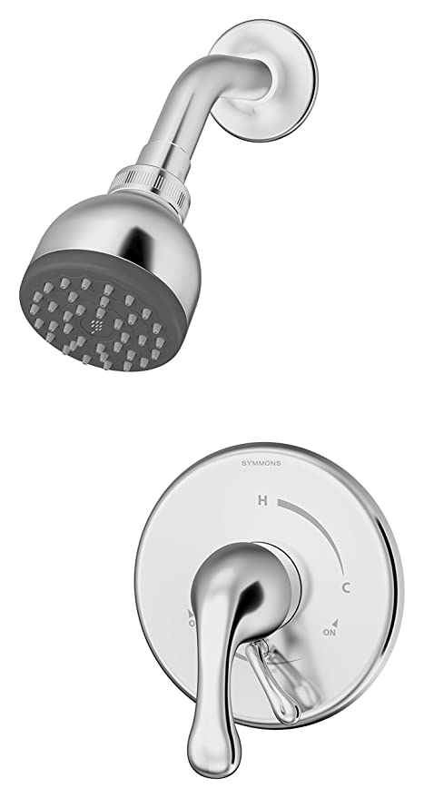 Symmons S-6601-X Unity 1-Handle Shower Faucet With Stops ...