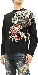 8d9c2545 Karakuri-Tamashii T-shirt Japanese Buddhism Men's long Sleeve Tee 273546