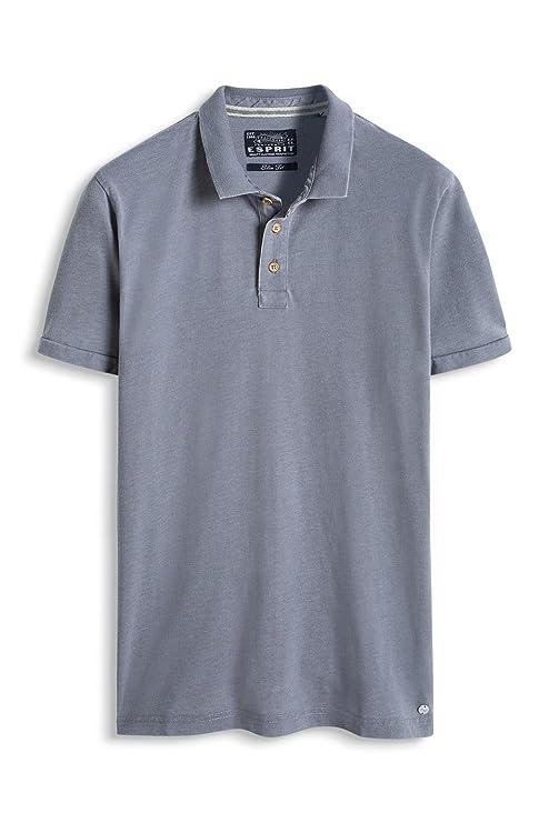 ESPRIT Herren Poloshirt 076EE2K027, Grau (Grey 030), X-Small: Amazon.de:  Bekleidung