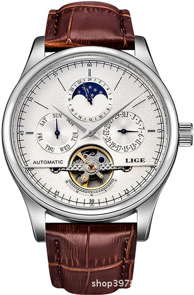 Watch Luxury Men's Multifunction Automatic Self Wind Watch