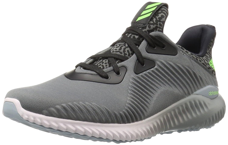 adidas Performance Women's Alphabounce W Running Shoe B01AYM4OBO 7.5 B(M) US|Ash / Neon Green / Ice Purple F16