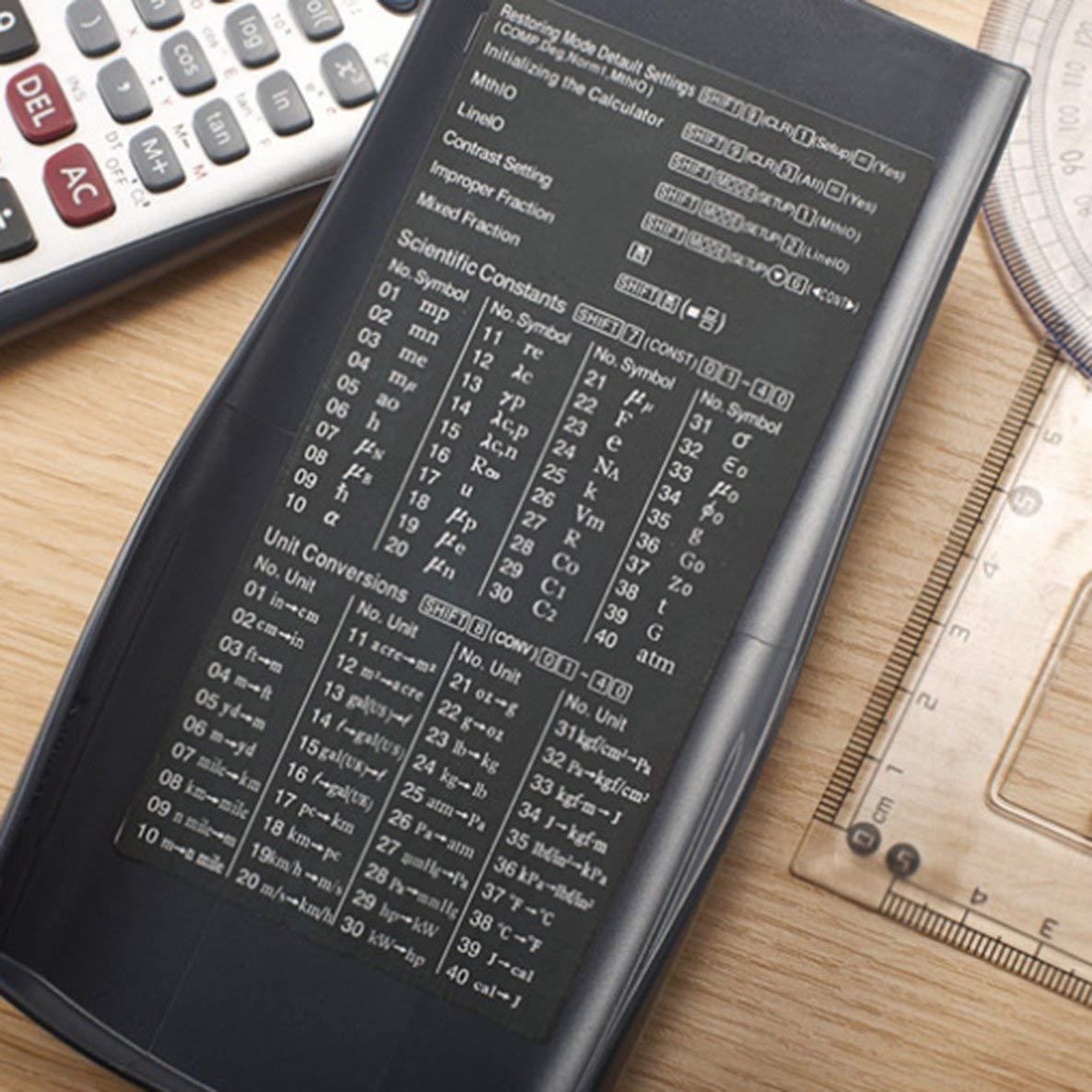 gfjfghfjfh Handheld Profesional Multi-Funcional LCD 2 l/íneas Pantalla Calculadora cient/ífica Contabilidad Solar Calculadora matem/ática