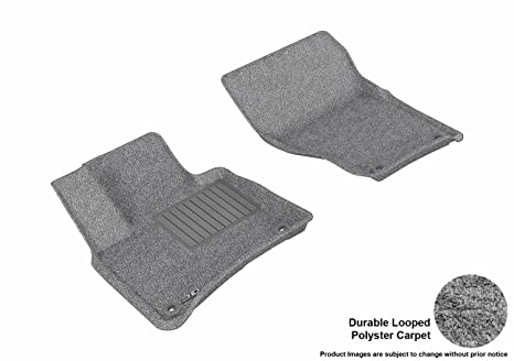 GGBAILEY D60314-F1A-GY-LP Custom Fit Car Mats for 2008 2014 Ford F-150 2 Door//Regular Cab Grey Loop Driver /& Passenger Floor 2013 2009 2012 2010 2011