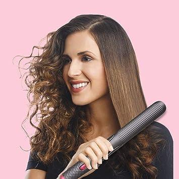 Wende Lisseur Cheveux Fer A Lisser Redresser Et Boucler En Un Seul Appareil Avec La Nouvelle Technologie De Chauffage Ceramique Ptc