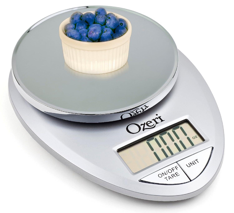 Ozeri Pro Balanza digital de cocina, desde 1 gr. hasta 5 kg.: Amazon ...