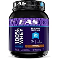 EAS 100% Pure Whey Protein Powder, Chocolate, 2 lb