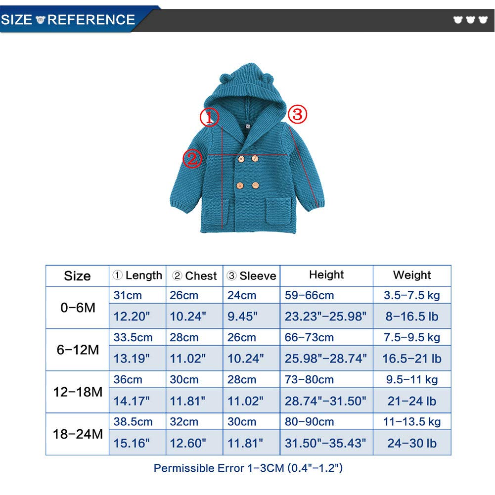 b599af5dbe37 mimixiong Baby Sweater Cardigan Boy Jackets Long Sleeve Hooded Coats