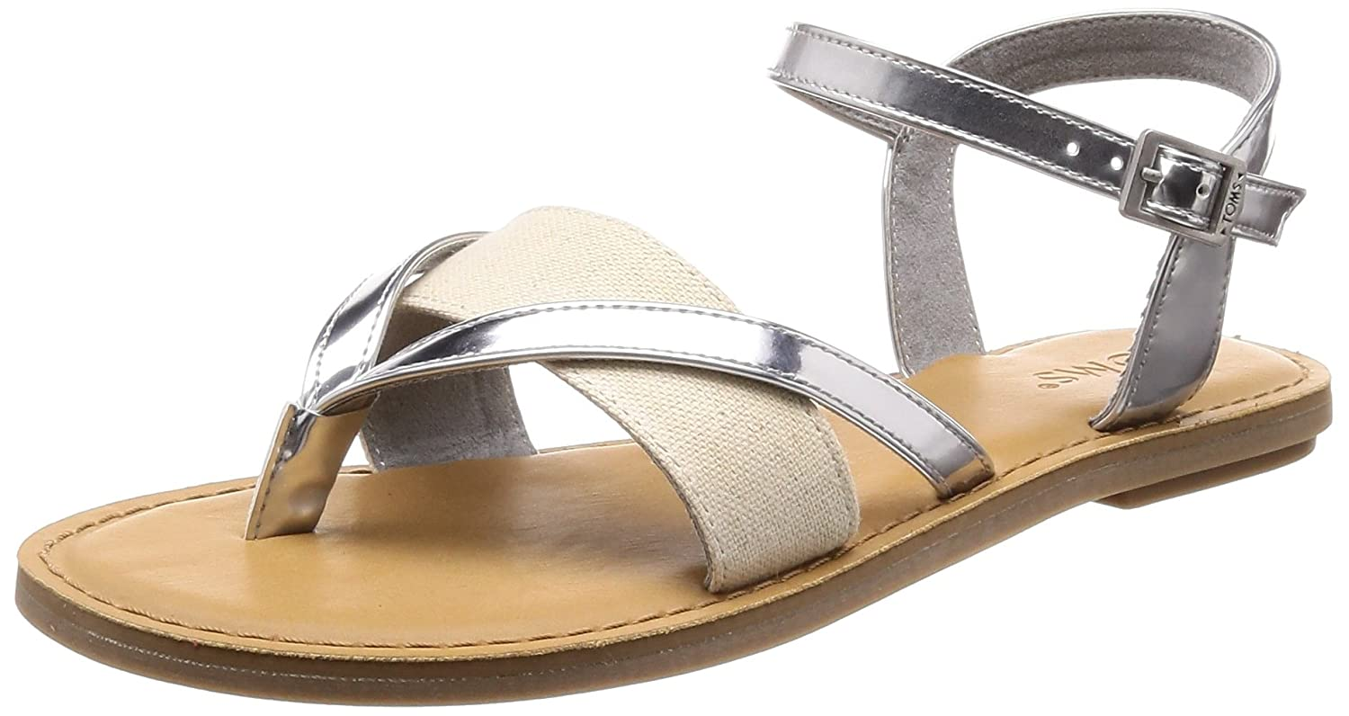 743745f74b50 TOMS Women s Lexie Sandal Rose Gold Specchio Hemp 5 B(M) US  Buy Online at  Low Prices in India - Amazon.in