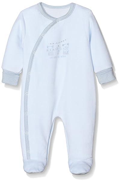 Absorba Premiers Jours, Pijama para Bebés, Azul (Ciel), 1 Mes
