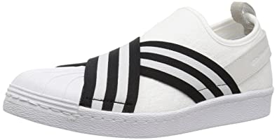 adidas Originals Men's WM Superstar Slip On PK Shoes, Cblack/Ftwwht, (10