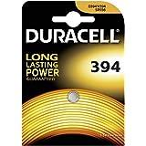 Duracell D394 batería no-recargable - Pilas (De óxido de plata, Button/coin, Plata)