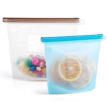 Comida de silicona ecológica reutilizable | Bolsas de ...