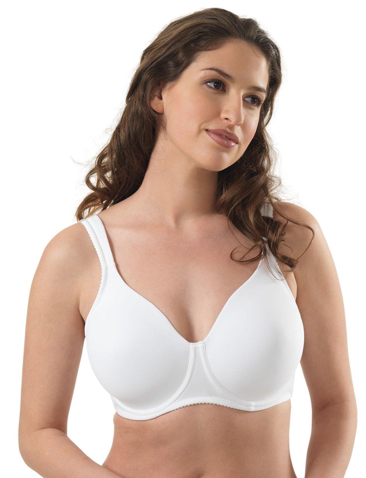 cf98fd10c80ff Leading Lady Women s Plus-Size Wireless Padded T-Shirt Bra. Product main  image