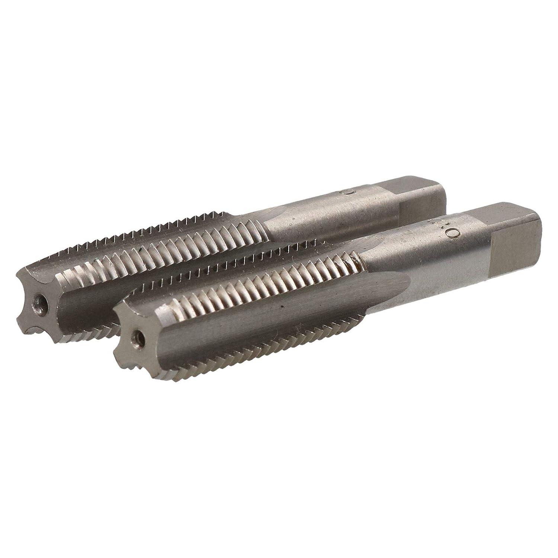 M16 x 2mm Jeu de tarauds m/étriques lacier de tungst/ène de conicit/é et bouchon coupe fil TD002