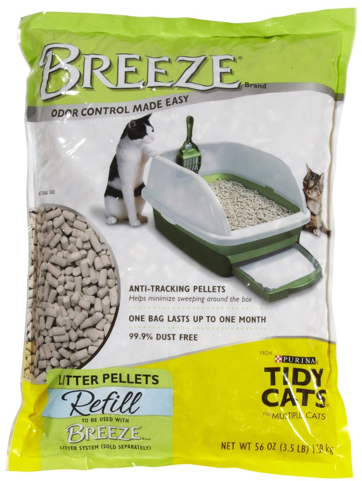 Tidy Cats Breeze Cat Litter Pellets - 3.5 lbs