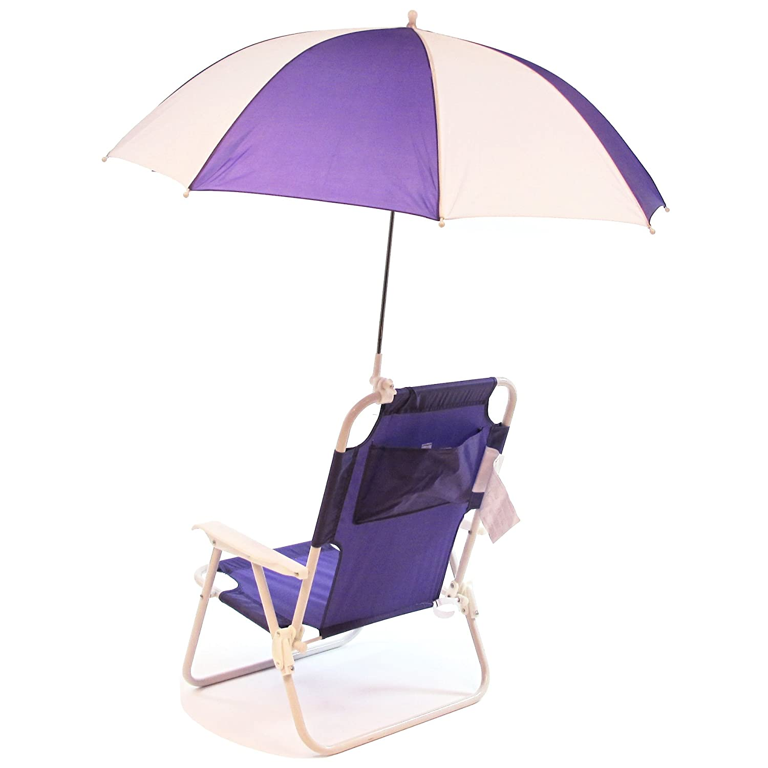 Amazon Redmon Outdoor Baby Kids Beach Chair with Umbrella