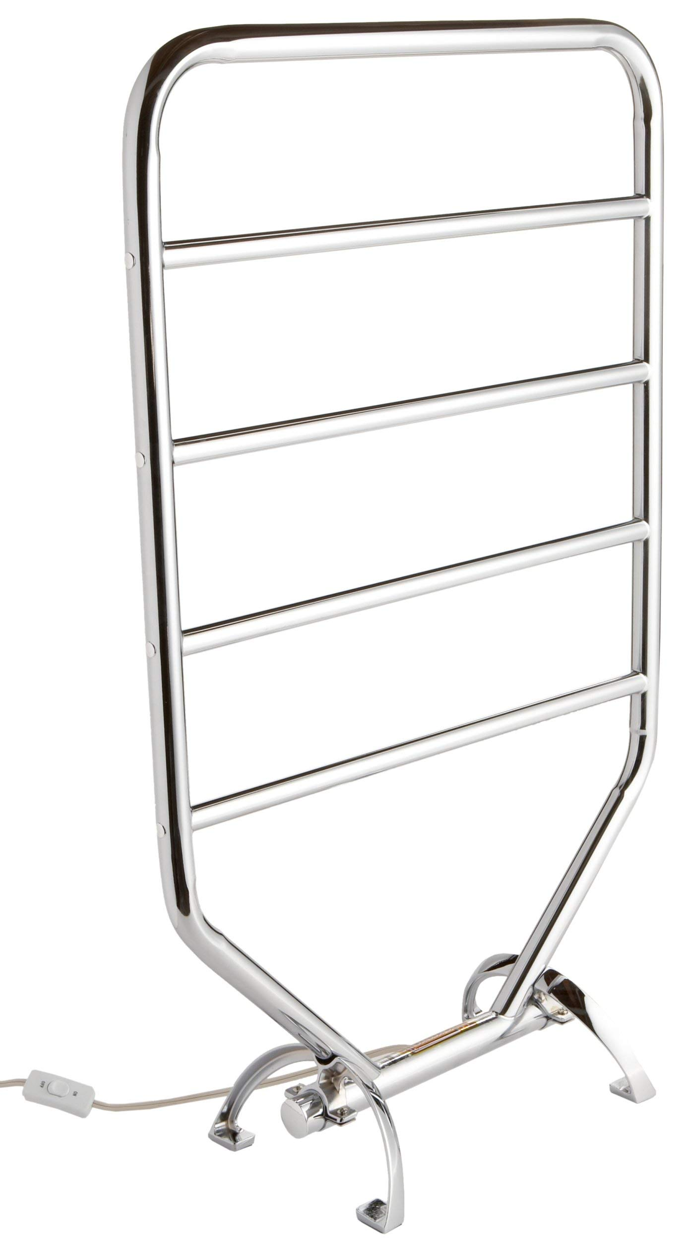Warmrails RTC Traditional Wall Mounted or Floor Standing Towel Warmer, Chrome Finish (Renewed)