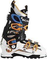 Scarpa Maestrale RS Ski Boot - Men's White/Orange/Blue 29