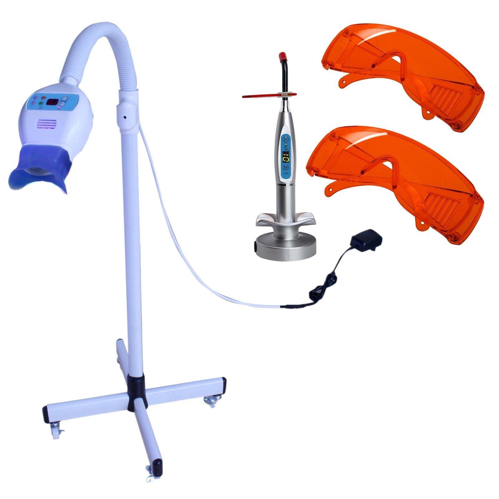 Zgood Dental Floor Type LED Teeth Whitening Light Lamp kit