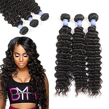 Elees Hair Haarverlängerung 14 16 18 Stück 3 Amazonde Beauty