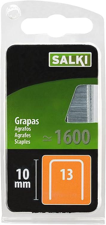 L Salki 86801310 Grapa 13//10 mm para Tapizar Metal