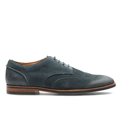 Clarks Broyd Wing Navy Suede Men