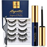 Arishine Magnetic Eyelashes with Eyeliner - Magnetic Eyeliner and Magnetic Eyelash Kit - Eyelashes With Natural Look…