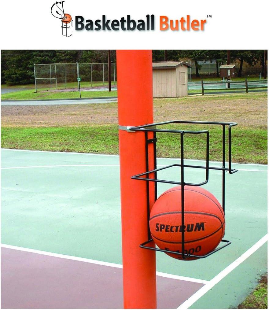 Basketball Butler 2 Ball Storage Rack: Sports & Outdoors