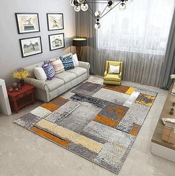 Amazon De Odefc Wyqzz Europaischen Stil Wohnzimmer Teppich Sofa