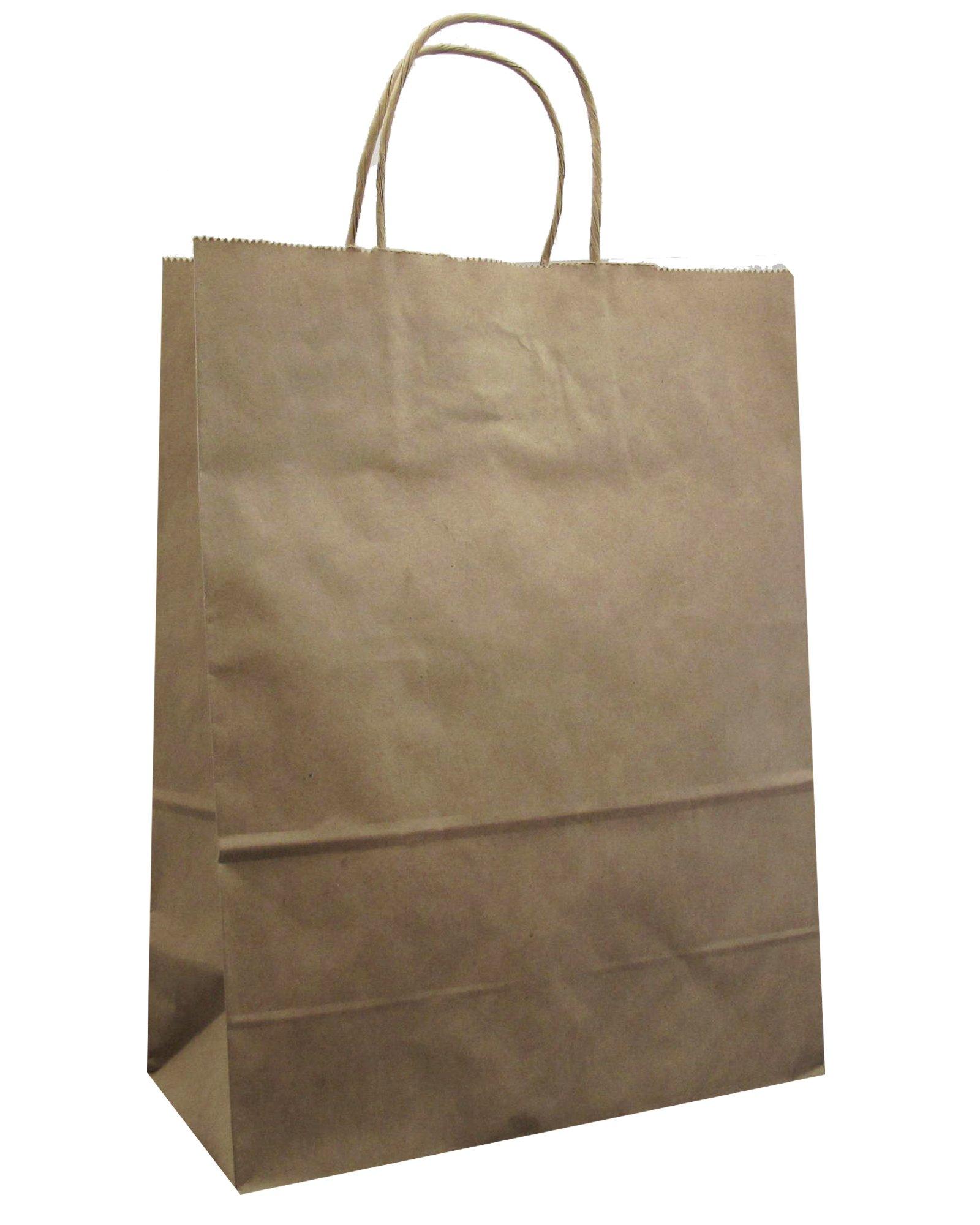 Jillson Roberts Bulk Medium Recycled Kraft Bags Available in 13 Colors, Natural, 250-Count (BMK918) by Jillson Roberts (Image #2)