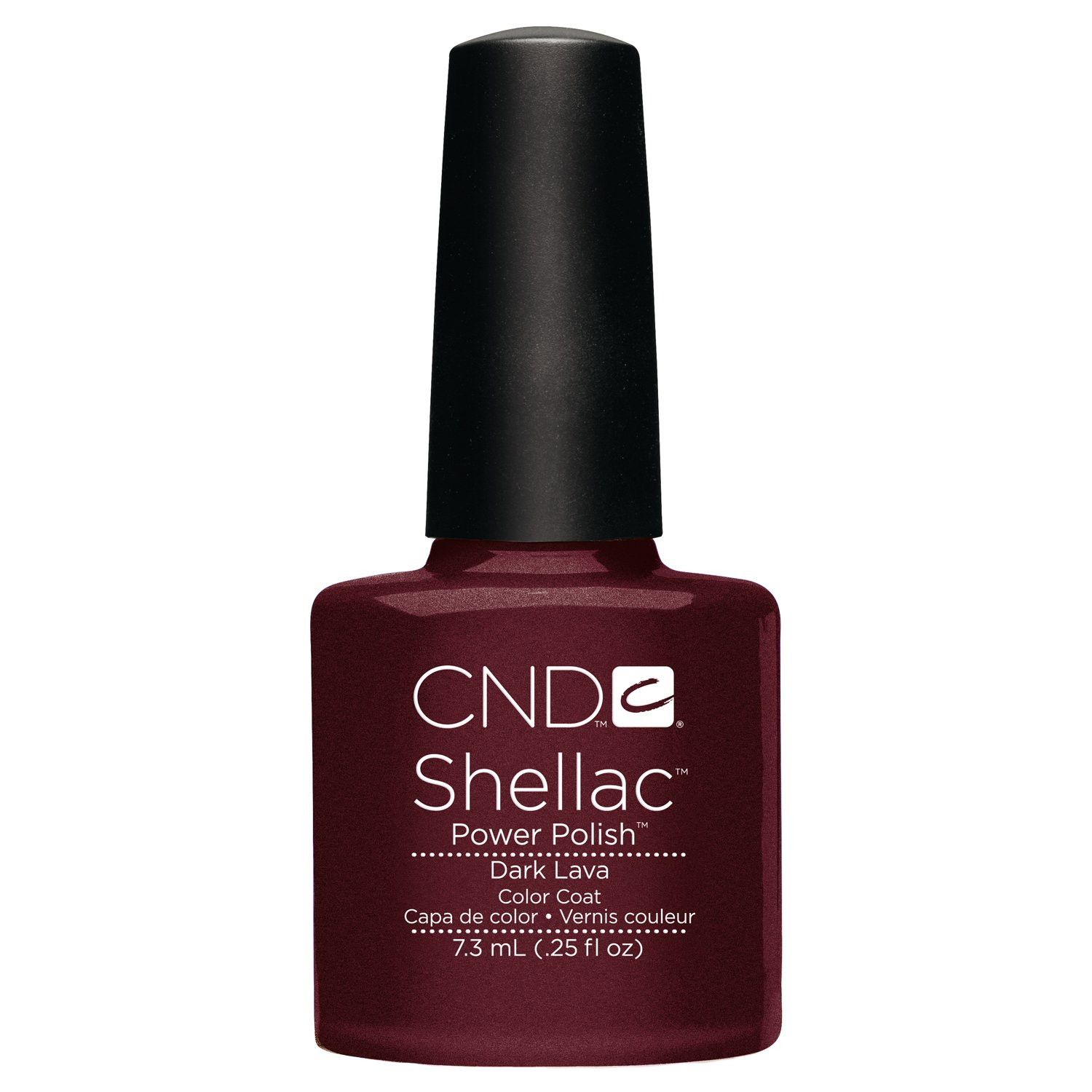 Creative Nail Shellac Dark Lava, 0.25 Fluid Ounce Creative Nail Design CNDS0087