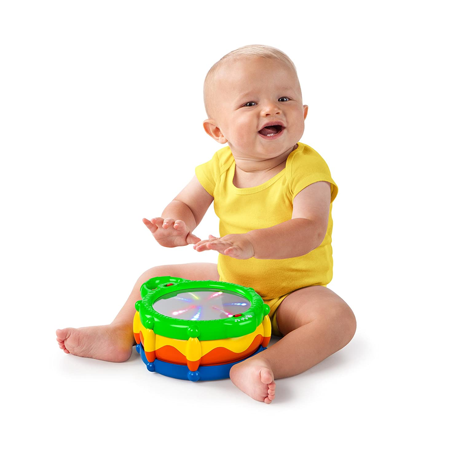 Amazon Bright Starts Baby Light and Giggle Drum Baby