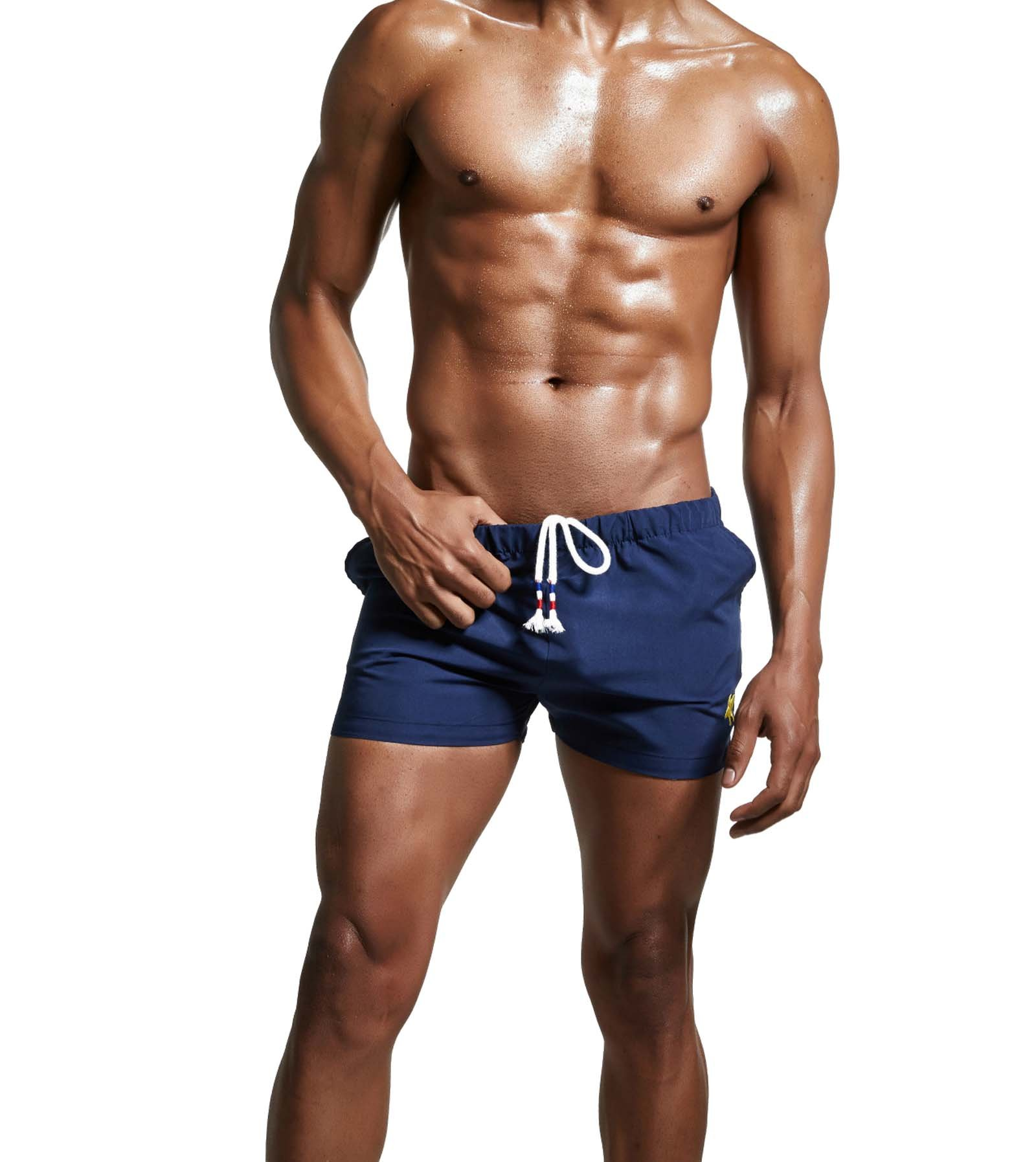 Mens Swimming Trunk Swim Briefs Boxer Short Bikini Swimwear Swimsuit for Men