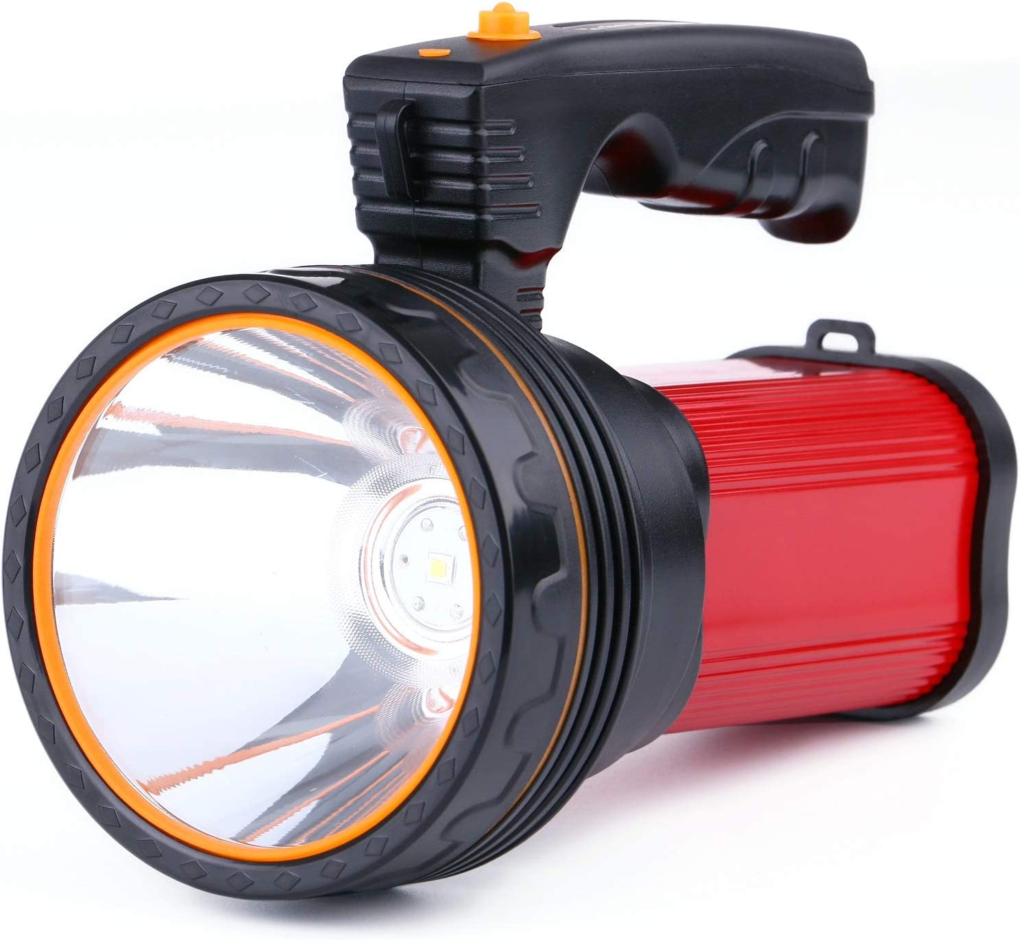 Rechargeable Torch 6000 Lumens LED Searchlight 6000mAh Super ...