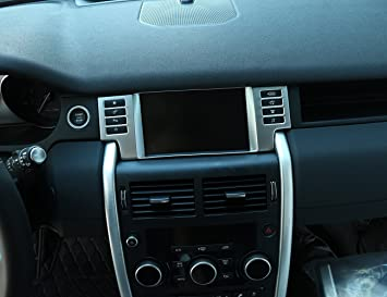 ABS Interior Navigation box Cover Trim For Land Rover