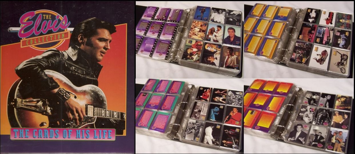 Elvis Presley The Cards Of His Life Complete Set 660 Cards 50
