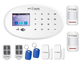 Sistema de alarma inalámbrico GSM y WiFi con detector de ...